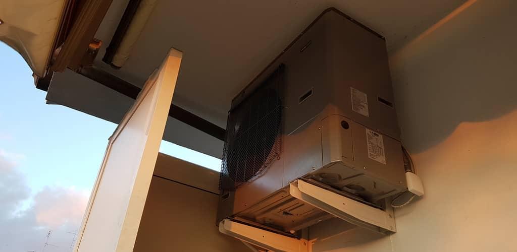 Pompa di calore NIBE Split Pack1 - Unità esterna