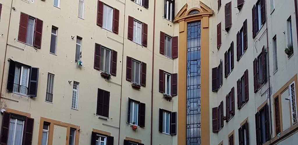 Appartamento con soffitto radiante per riscaldamento e raffrescamento