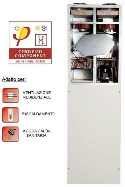Ventilazione meccanica combinata