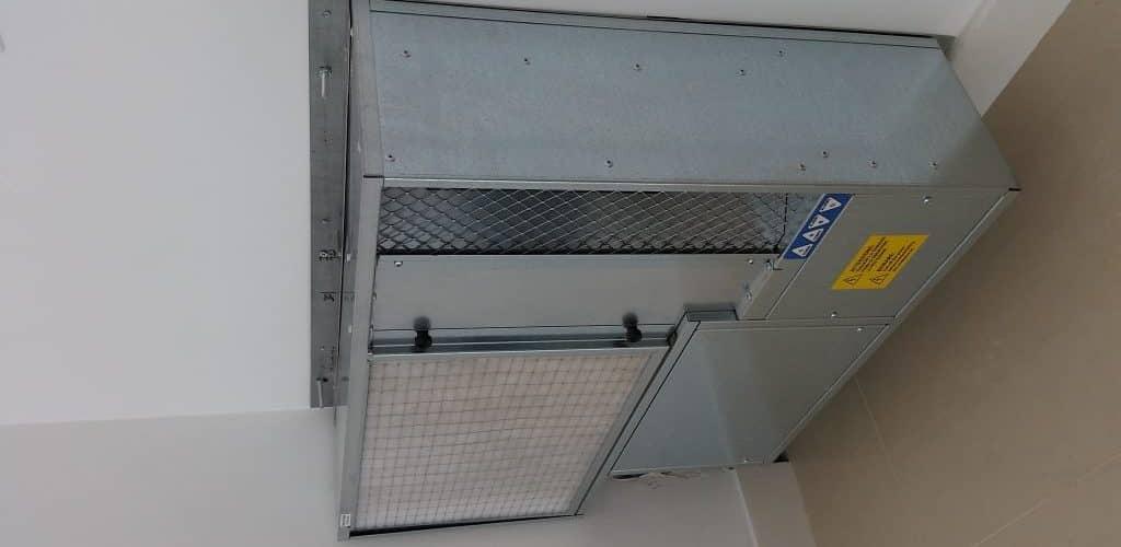 Deumidificatori per soffitto radiante