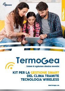 Kit termoregolazione smart wireless