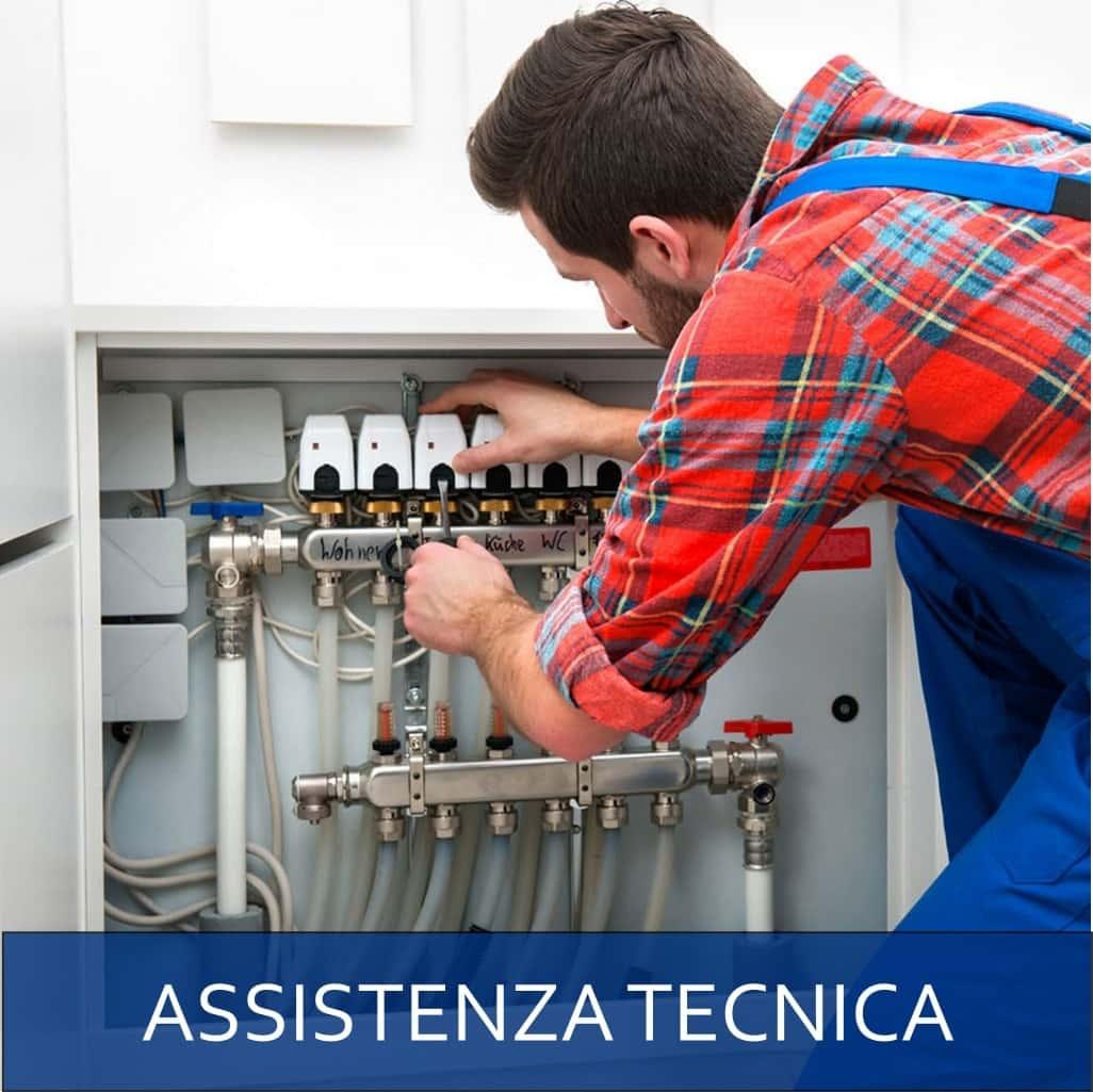 Assistenza tecnica impianti a pompa di calore